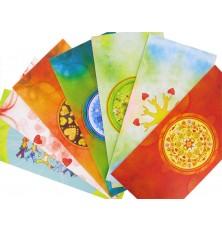 7 cartes Postales Mandal'âme - série 1