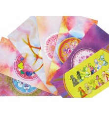 7 cartes Postales Mandal'âme - série 2