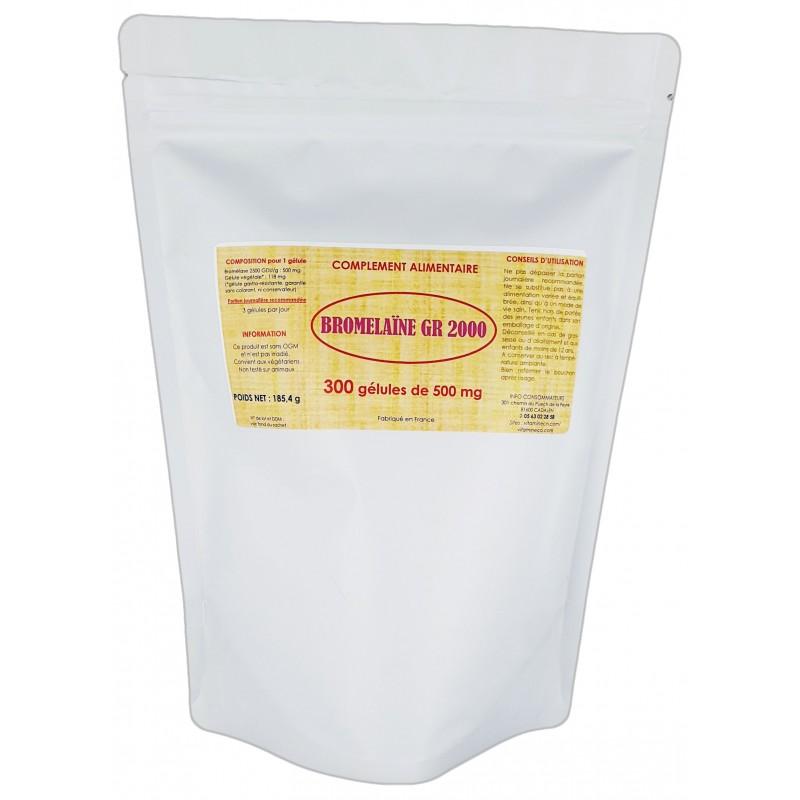 BROMELAINE GR 2000 x 300 gélules